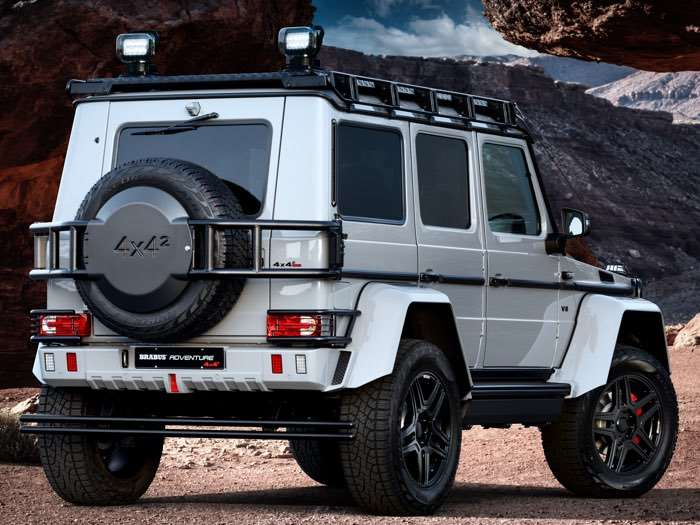 Brabus 550 Adventure 4 x 4