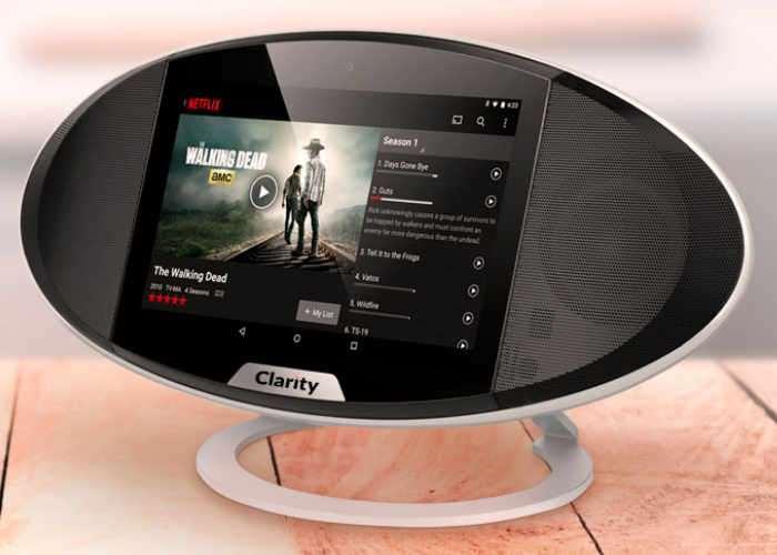 Clarity Touchscreen Smart Speaker