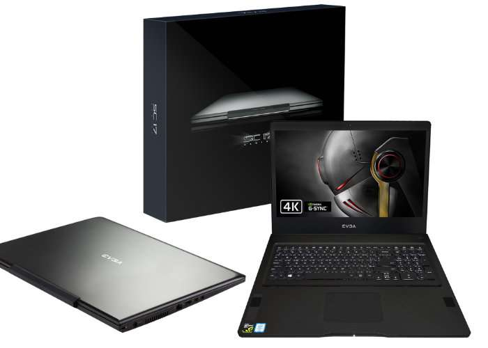 EVGA SC17 Gaming Notebook