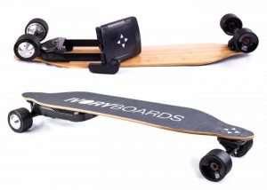 IvoryBoards Electric Skateboards  (video)