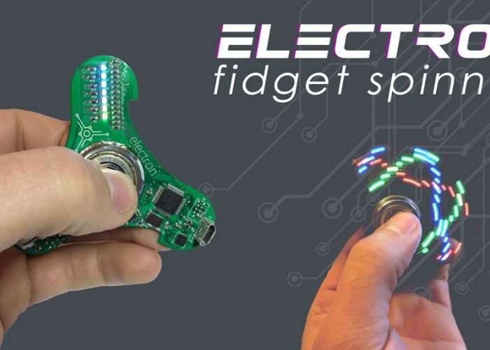 Electron Fidget Spinner
