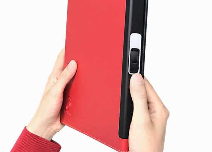 Fingerprint Sensor Notebook