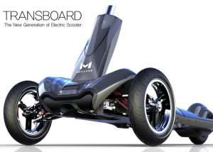 Transboard Folding Electric Scooter (video)