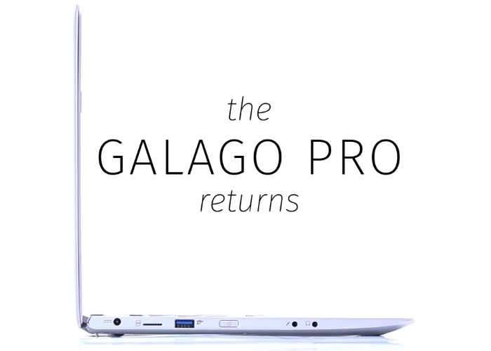 Galago Pro 13.3 Inch Linux Laptop