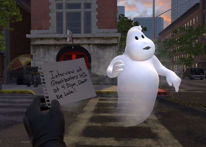 Ghostbusters PlayStation VR Video Game Available Now On PS4