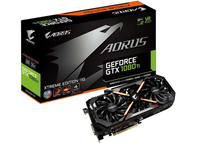 Gigabyte GeForce GTX 1080 Ti AORUS Xtreme Edition Graphics Card