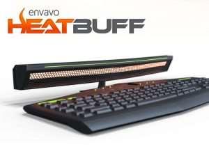 Heatbuff Keyboard Heater Warms Your Fingers As You Type Or Play (video)