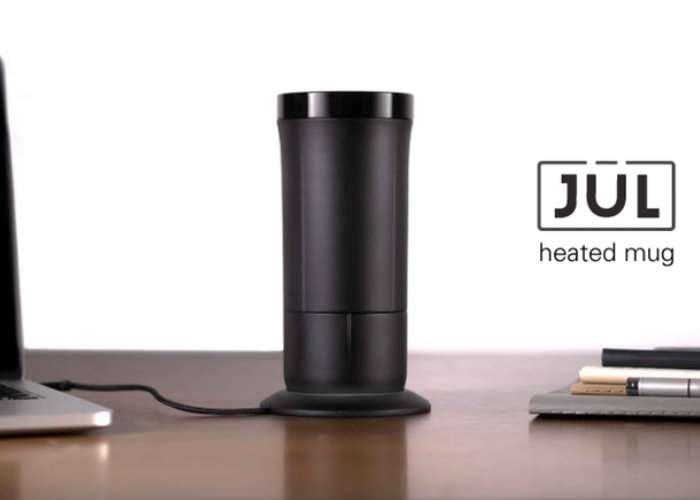 Heated smart mug