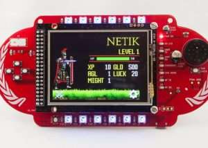 Indie Defcon Electronic Conference Badge (video)