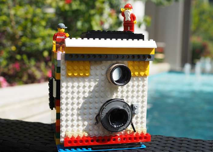 Instax Magic LEGO Camera