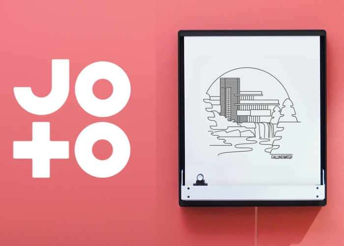 Joto Smartphone Connected Pen Drawn Display