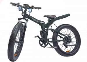 MOAR Fat Tire Electric Bike – 60 Mile Range, 20mph Top Speed From $999 (video)