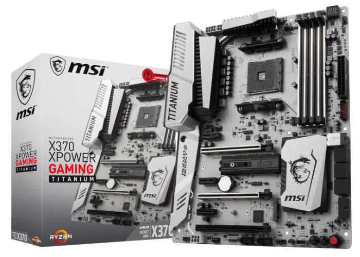 MSI AM4 Motherboard Range