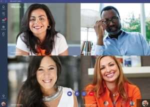 Microsoft Teams Service Launches To Take On Slack (videos)