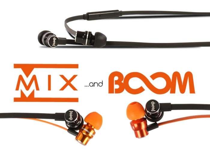 Mix And Boom Headphones