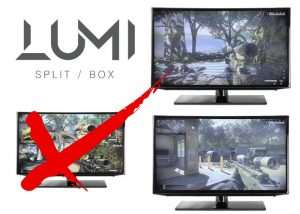 LUMI Split-box Lets You Play One Console On Multiple Screens (video)