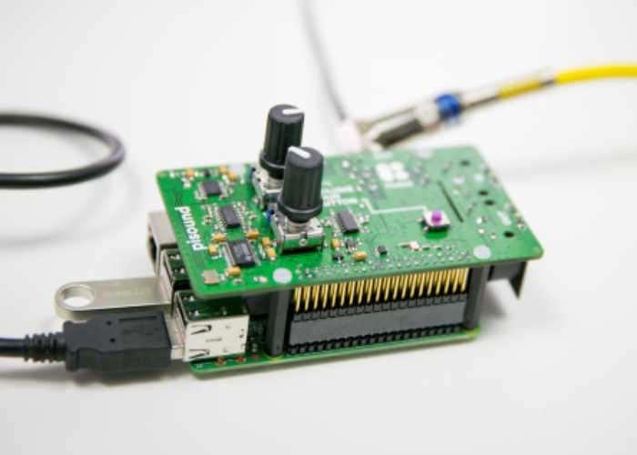 PiSound Raspberry Pi Audio And MIDI Interface Board
