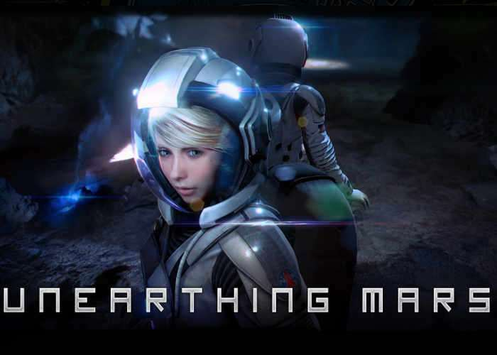 Playstation VR Unearthing Mars