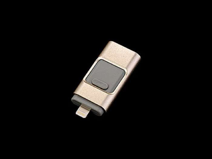 Porta Memory 3-Pronged Flash Drive