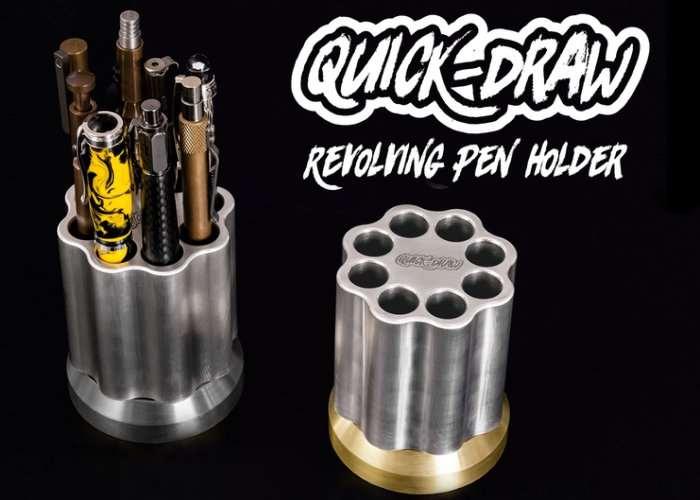 Quick-Draw Revolving Pen & Pencil Holder