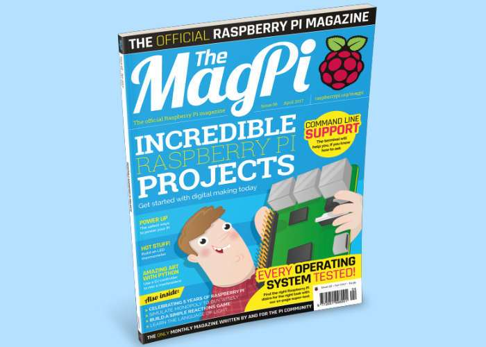 Raspberry Pi Magazine Issue 56