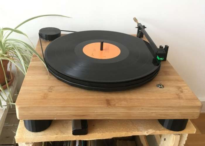 Raspberry Pi Record Player
