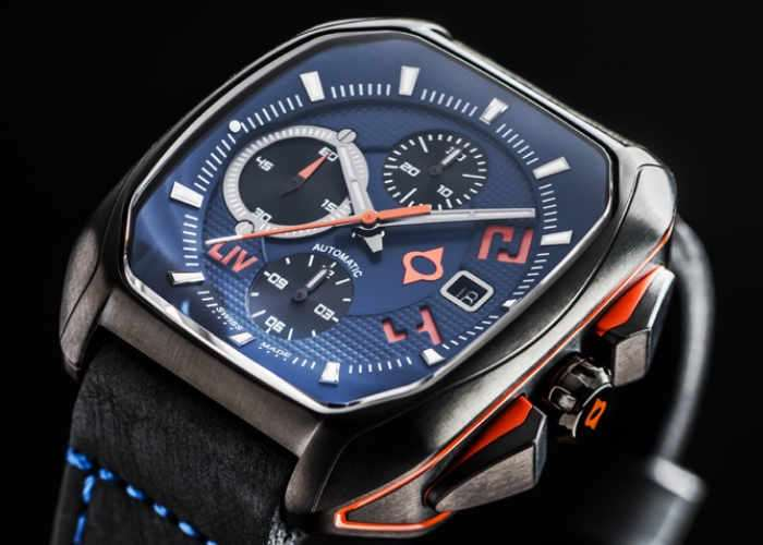 Rebellious Swiss Automatic Watch
