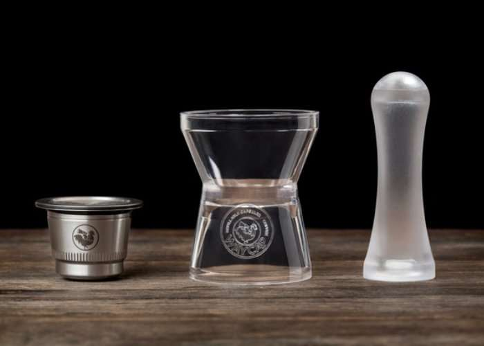 Refillable Coffee Capsule for Nespresso Machines