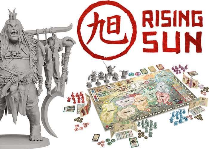 Rising Sun Board Game