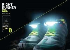 Night Runner Pro Running Shoes Lights (video)