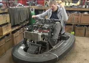Top Gear Stigs New Ride By Colin Furze Part 2 (video)