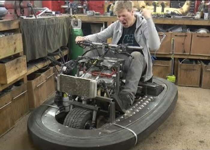 Top Gear Stigs New Ride By Colin Furze