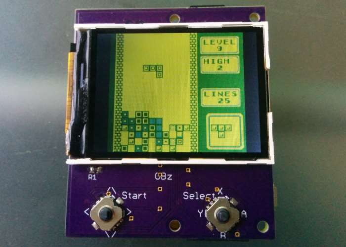 Super Small GameBoy Zero Handheld Created