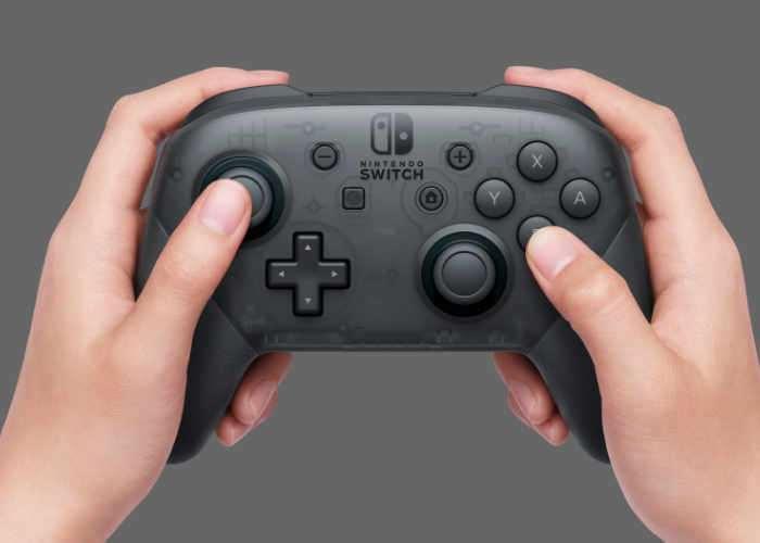 Switch Pro Controller's Secret Message