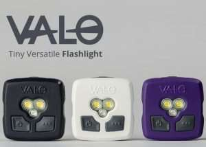 VALO Mini Flashlight Offers Both White And Red Lighting (video)
