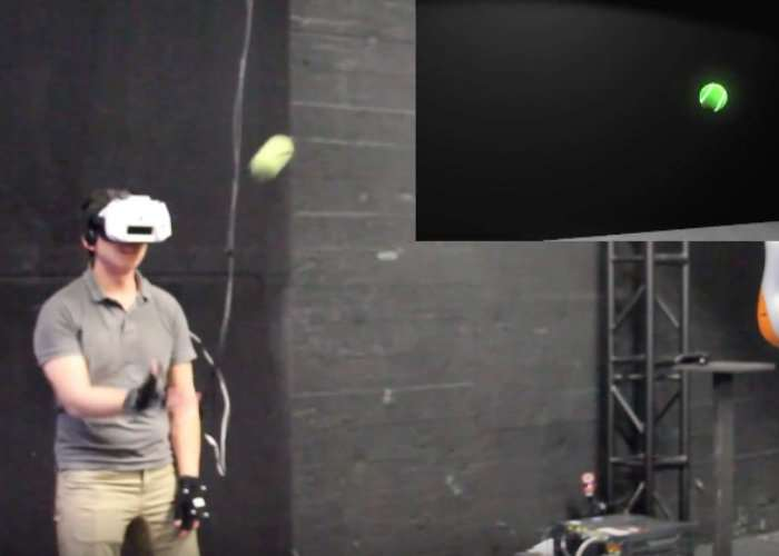 VR Ball Catch