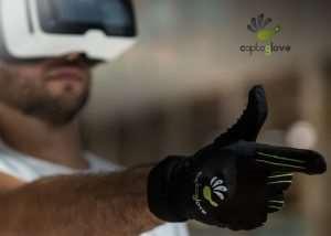 CaptoGlove Virtual Reality BTLE Controller VR Glove (video)