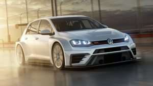 New VW Golf GTI TCR Unveiled