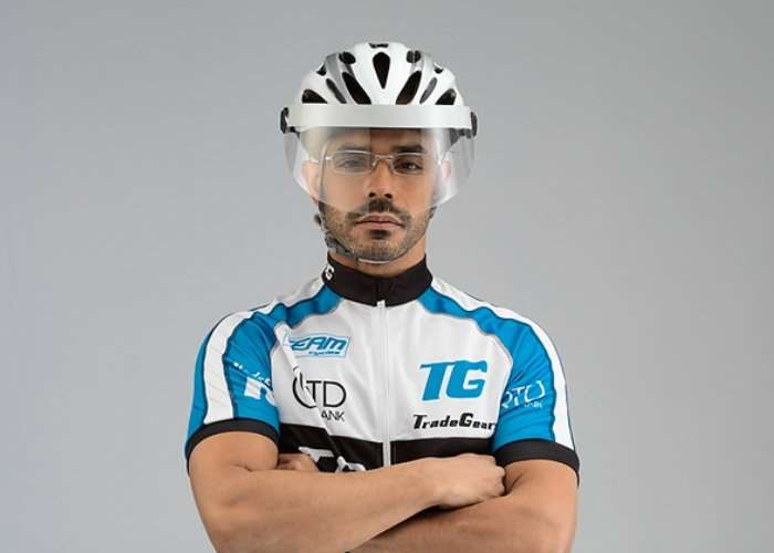 VeloVisor Universal Anti-Fog Cyclist Visor