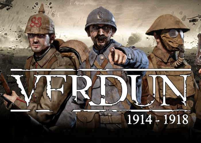 Verdun Multiplayer FPS Game