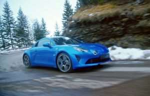 New Renault Alpine A110 Goes For A Spin (Video)