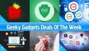 Geeky Gadgets Deals Of The Week, 25th March 2017