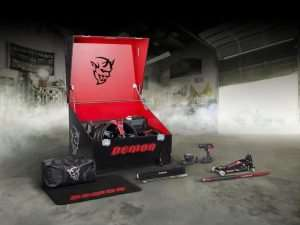 Dodge Unveils Some of the Demon Custom Crate Tools