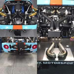 Heavily Modified Ford GT Reaches Nearly 300 MPH in Standing Mile