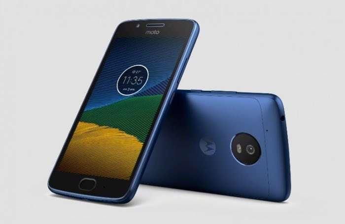 Sapphire Blue Motorola Moto G5