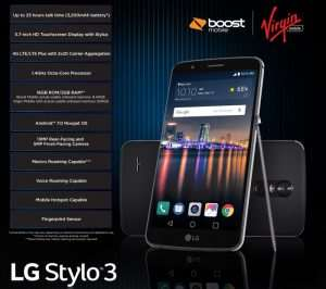 LG Stylo 3 Lands On Boost Mobile And Virgin Mobile