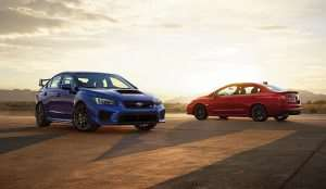 Refreshed 2018 WRX Starts at $26,995