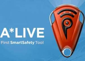 A*LIVE SmartSafety Tool And Satellite SOS Messenger System (video)