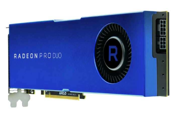 AMD Radeon Pro Duo Polaris x2