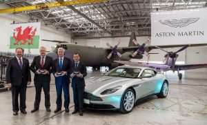 Aston Martin Starts Work At New St Athan Plant In Wales